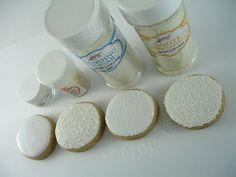 Difference between sanding sugar; nonpareils; disco dust & edible glitter
