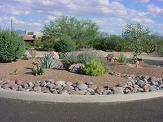 Rock Landscaping Ideas on Pinterest Xeriscaping High