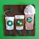 Starbucks Quiet Book Page