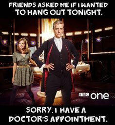 That's right!!  #DoctorWho