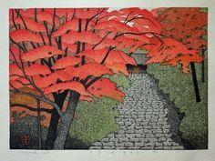 Kazuyuki Ohtsu Japanese Woodblock Prints.