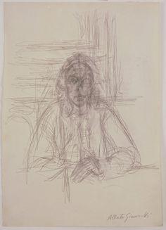 Alberto Giacometti - Drawings