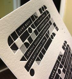 Business Cards: Luke Bott