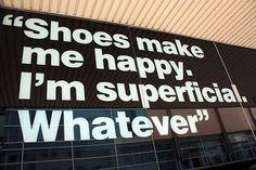 shoes do make me happy