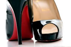 Classics. christians, grad gifts, style, designer shoes, dream, art, heel, christian louboutin, black