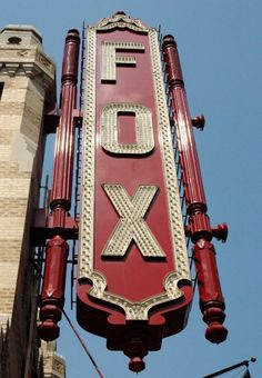 Fox Theater in Atlanta!