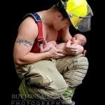 firefighter w baby