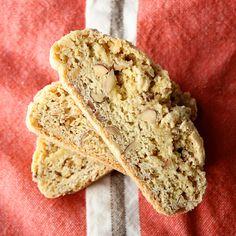 almond biscotti, tart, food
