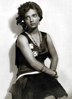 American actress Nina Mae McKinney  1929