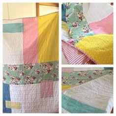 treehous textil, textil summer, quilthand quilt, summer quilthand