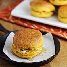 Sweet Potato Biscuits -- make with leftover Thanksgiving sweet potatoes