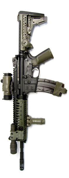 ".22LR 14.5"" AR-15 with Spike's Dedicated .22LR upper with Vltor rail system."