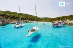 Antipaxos, blue lagoon, swimming there 5.7.2013