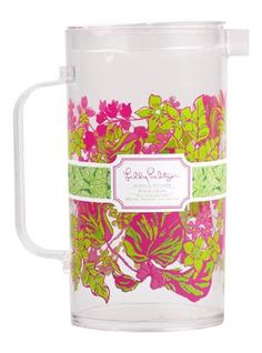 Lilly Pulitzer Acrylic Pitcher In Luscious