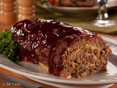 It's a homemade meatloaf recipe with a twist! This BBQ Cheddar dinner recipe is a surefire winner with the whole family.