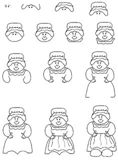 Santa Claus Drawing Step By Step Images & Pictures - Becuo