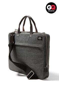 Nice. Jack Spade 'Tech Oxford' slim laptop briefcase.