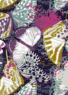 Papillon Cushion @ Imogen Heath