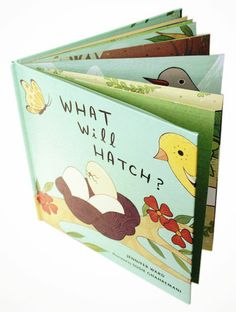 What Will Hatch? Children's picture book at http://shop.boygirlparty.com