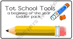 August Tot Packs (Set of 2) product from LittleAdventuresPreschool on TeachersNotebook.com