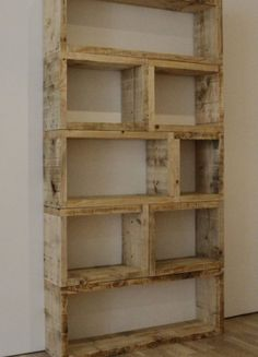 Bookcase - This could be painted either white, yellow, or poppy red, and used to hold books or other trinkets.