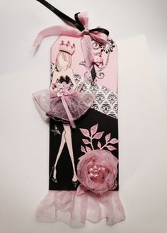 Blitsy: Inspirations Wall: Prima Doll Tag - Save up to 70% on craft supplies!