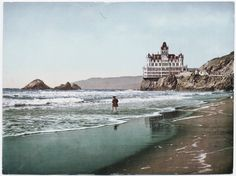 The Cliff House, San Francisco-- I never saw it back in the day. It was always one of my favorite places to visit when I'd go to San Franciso.
