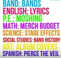 Lol Pierce the veil for Spanish