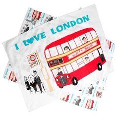 I love London tea towel