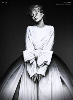 a #gown #blackandwhite #fashionphotography