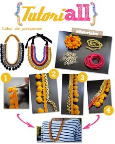 Collares y pulsera made by yourself !