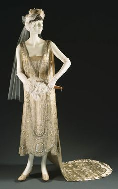 Court Dress by Callot Soeurs, circa 1928.