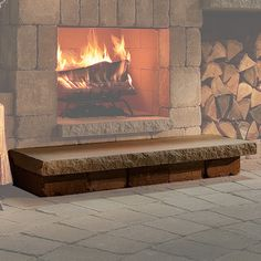 Fireplace Hearths On Pinterest Stone Fireplaces