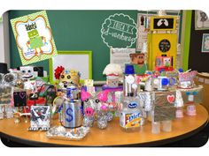 Robots!  Robot themed centers and a Robot Celebration Party