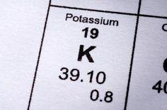 Potassium can alleviate bloating