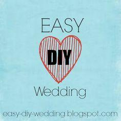 My blog of DIY Wedding Ideas