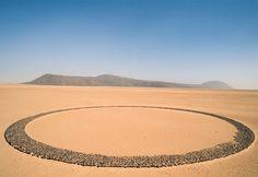 Mysterious Circle of Stones, Tenere Desert, Niger