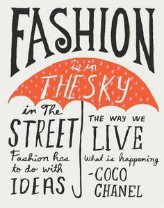 Fashion quote - by Coco Chanel