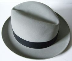 Vintage KNOX Mens Fedora Hat- every man should own one really beautiful hat. Doesn't matter what style, just a classic, well-fit hat.