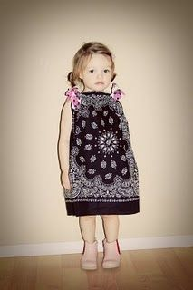 easy to sew dress tutorial sew, craft, 15 minut, bandana dress, bandanna dress, minut dress, dresses, babi, diy