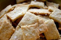 Homemade Parmesan Cheddar Crackers