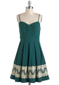 For-evergreen Gala Dress, #ModCloth