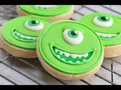 Easy Monsters University Cookies - YouTube Haniela's