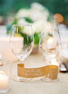 wine glass scroll #w