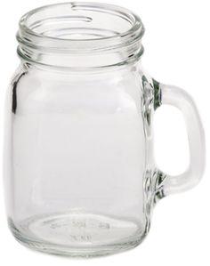 4 oz MugShot Mini Mug - this is a tiny version of our Handled Mason Jar Mug...only 4oz!