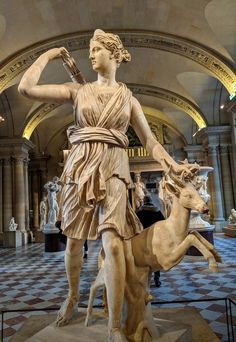 Artemis, Goddess of the Hunt (Illustration) - Ancient History Encyclopedia