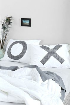 The Rise And Fall XO Pillowcase #urbanoutfitters