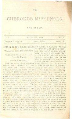 Cherokee Messenger (1858) by Missouri History Museum, via Flickr
