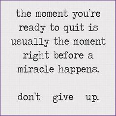 dont give up quotes - Google Search
