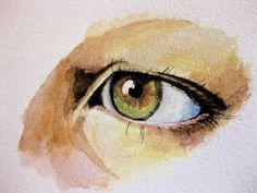 watercolor -good eye to study